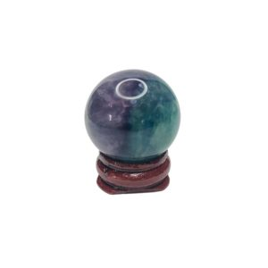 Rainbow Fluorite Mini Sphere
