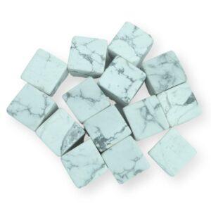 Howlite Cubes